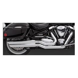 Vance & Hines Powershots Exhaust for Roadstar XV1600 99-03 & XV17000 2004-2007