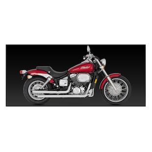 Vance & Hines Straightshots Original Exhaust For Honda Shadow Spirit 750DC 2001-2007