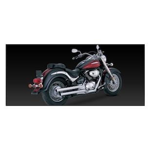 Vance & Hines Straightshots Original Exhaust For Suzuki Intruder Volusia VL800 2001-2004 & Boulevard C50/M50 2005-2008