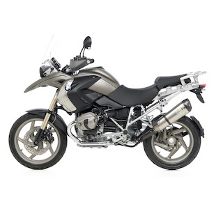Leo Vince Factory R EVO II Slip-On Exhaust BMW R1200GS 2010-2012