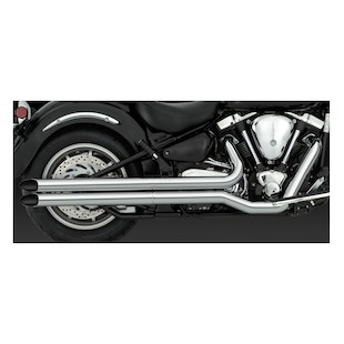 Vance & Hines Longshots HS Exhaust for Road Star XV1600 1999-2003 & XV1700 2004-2007