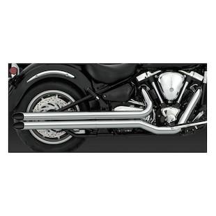 Vance & Hines Longshots HS Exhaust for Road Star XV1600 1999-2003 & XV1700 2004-2007