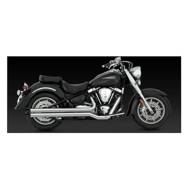Vance & Hines Longshots HS Exhaust Yamaha Road Star XV1600 / XV1700