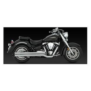 Vance & Hines Longshots HS Exhaust For Yamaha Road Star XV1600 1999-2003 & XV1700 2004-2007