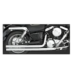 Vance & Hines Longshots Exhaust For Kawasaki VN1500 Mean Streak 2002-2003 & VN1500D/E Vulcan Classic 1996-2008