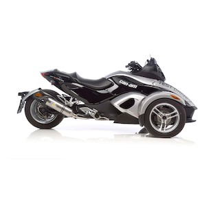 Leo Vince Factory EVO II Slip-On Exhaust Can-Am Spyder RS / GS 2007-2012