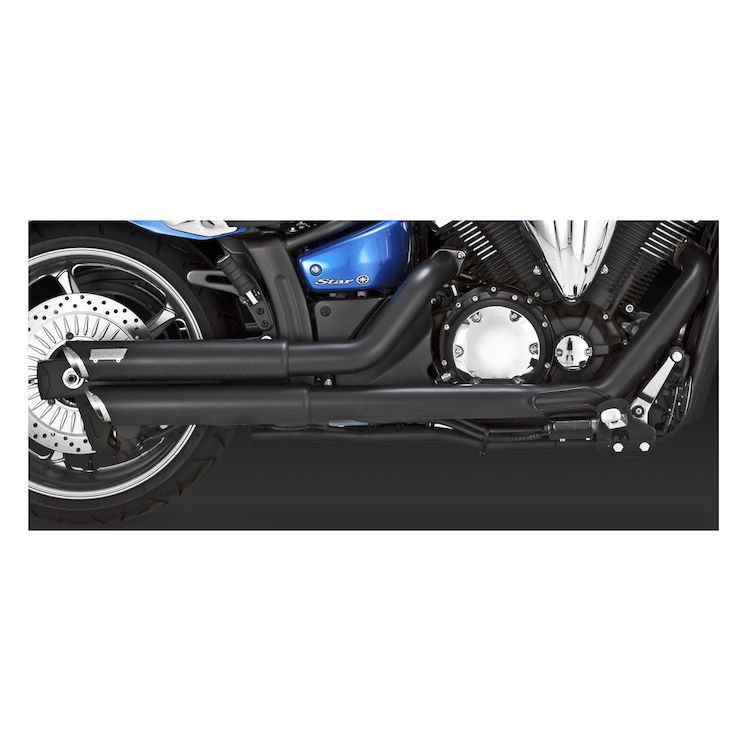Vance & Hines Twin Slash Staggered Exhaust Yamaha XV1300 Stryker 2011-2015