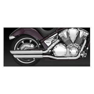 Vance & Hines Twin Slash Slip-On Mufflers Honda Fury VT1300CR/CS/CT 2009-2015