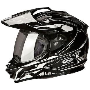 GMax GM11D Dual Sport Helmet - Graphic
