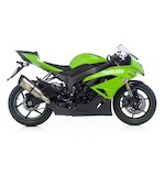 Leo Vince Factory R EVO II Slip-On Exhaust Kawasaki ZX-6R 2009-2012