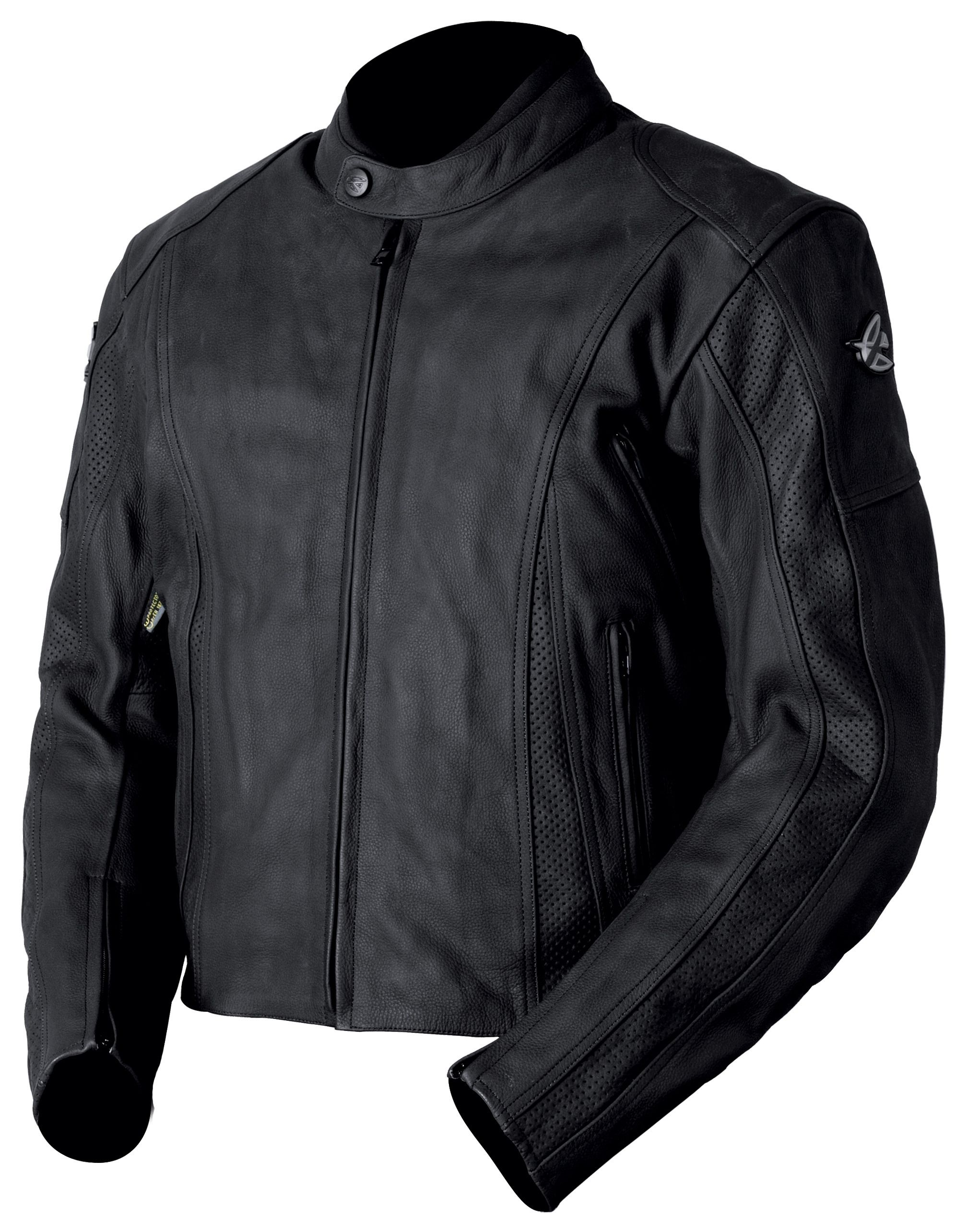 AGV Sport Canyon Perforated Leather Jacket - RevZilla