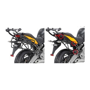 Givi PLXR450 Rapid Release Tubular Sidecase Racks Kawasaki Versys 650 2010-2014