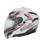 GMax GM54S Pink Ribbon Modular Helmet