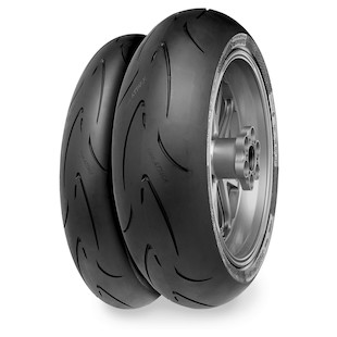 Continental Race Attack Tires for Ducati Diavel