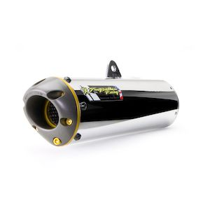 Two Brothers M-6 Dual Slip-On Exhaust Kawasaki Ninja EX 250 1989-2007