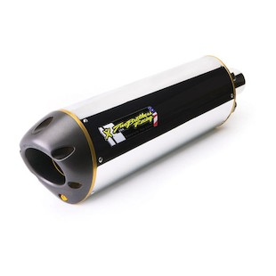 Two Brothers M-2 VALE Slip-On Exhaust Kawasaki Z750 2007-2012