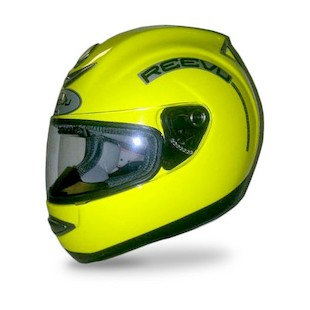 Reevu MSX1 Rear-View Hi Viz Helmet (Size XS Only)