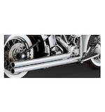 Vance & Hines Big Shots Long Exhaust for Harley Softail 86-11