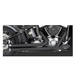 Vance & Hines Big Shots Staggered Exhaust for Harley Softail 1986-2011