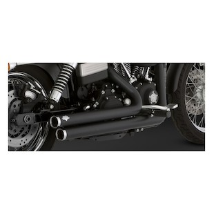 Vance & Hines Big Shots Staggered Exhaust For Harley Dyna 2006-2011