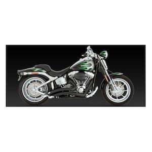 Vance & Hines Big Radius Exhaust For Harley Rocker / SE Springer 2008-2011