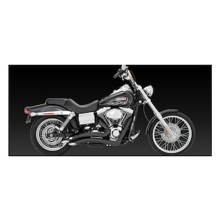 Vance & Hines Big Radius Exhaust for Harley Dyna 06-11