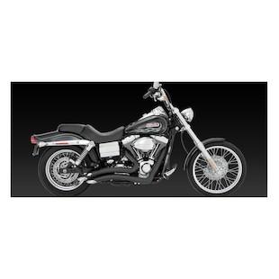 Vance & Hines Big Radius Exhaust For Harley Dyna 2006-2011