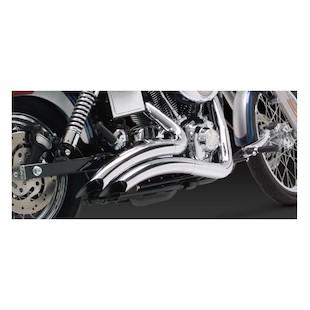Vance & Hines Big Radius Exhaust For Harley Dyna 1991-2005