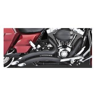 Vance & Hines Big Radius Exhaust For Harley Touring 2009