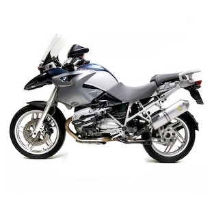 Leo Vince Oval EVO II Slip-On Exhaust BMW R1200GS 2004-2009