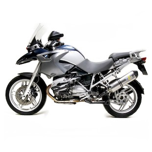 Leo Vince Factory EVO II Slip-On Exhaust BMW R1200GS 2004 2009