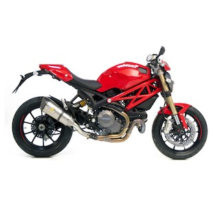 Leo Vince Factory R EVO II Slip-On Ducati Monster 1100 EVO 2011-2012