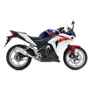 LeoVince GP Corsa Slip-On Exhaust Honda CBR250R 2011-2013