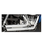 Vance & Hines Double Barrel Staggered Exhaust For Harley Sportster 04-12