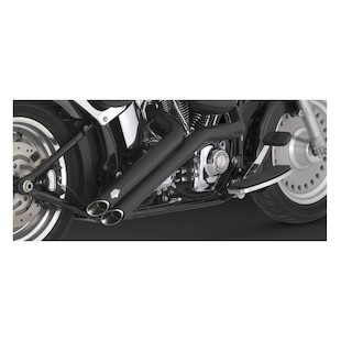 Vance & Hines Sideshots Exhaust For Harley Softail 1986-2011