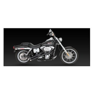 Vance & Hines Sideshots Exhaust For Harley Dyna 2006-2011