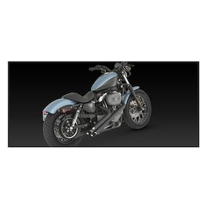 Vance & Hines Sideshots Exhaust For Harley Sportster 2004-2013
