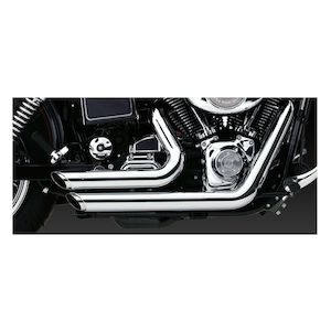 Vance & Hines Shortshots Staggered Exhaust For Harley Dyna 1991-2005