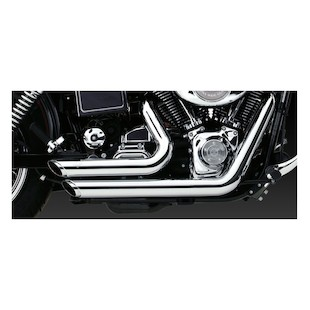 Vance & Hines Shortshots Staggered Exhaust For Harley Dyna 91-05