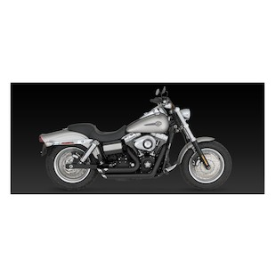 Vance & Hines Shortshots Staggered Exhaust for Harley Dyna 06-11