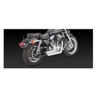 Vance & Hines Shortshots Staggered Exhaust For Harley Sportster 1999-2003
