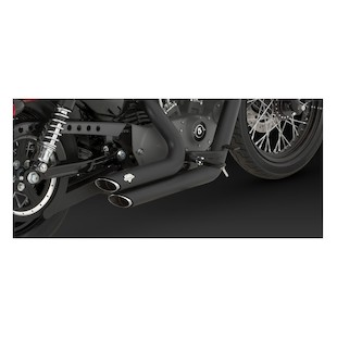 Vance Hines Shortshots Staggered Exhaust for Harley XL 2004-2012