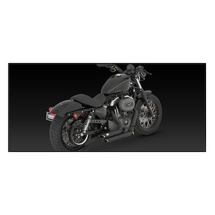 Vance Hines Shortshots Staggered Exhaust for Harley Sportster 2004-2013