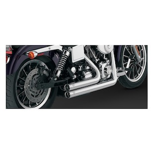 Vance & Hines Shortshots Original Exhaust For Harley Dyna 1991-2005