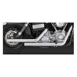 Vance & Hines Straightshots Exhaust For Harley Dyna 2006-2011
