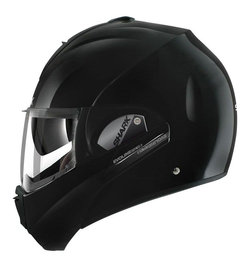 shark evoline 3 st helmet solid colors revzilla. Black Bedroom Furniture Sets. Home Design Ideas