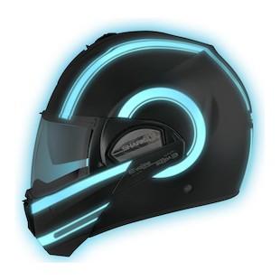 Shark Evoline 3 ST Moovit Lumi Helmet