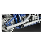 Vance & Hines Straightshots Slip-On Exhaust For Harley Softail 2007-2015