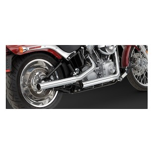 Vance & Hines Straightshots HS Slip On Exhaust For Harley Softail 2000-2006