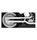 "Vance & Hines 2 1/2"" Straightshots HS Slip-On Mufflers For Harley Softail 2007-2017"